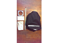 Hensel Ultra Softbox 60 x 120cm including Inner and Front Baffles plus Speedring
