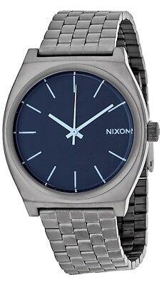 Nixon Time Teller Gunmetal Stainless Steel Mens Watch A0451427