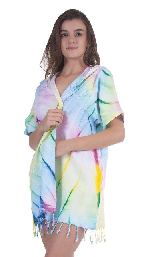 CLEARANCE SALE Rainbow  100% Cotton #Beach Dress / #Pareo /