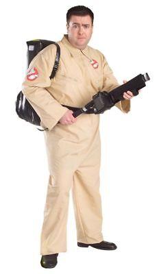 Ghostbuster Hunter Lizensiert Erwachsene Plus Herren Overall und Rucksack Kostüm (Ghost Buster Kostüme)