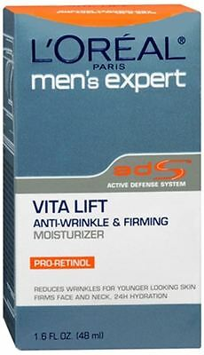 L'Oreal Men's Expert Vita Lift Anti-Wrinkle and Firming Moisturizer 1.60 -