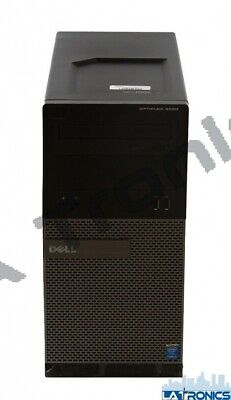 Dell Optiplex 3020 Desktop PC i5-4590 3.30GHz 4GB RAM 500GB HDD Win 10