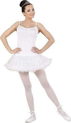 White Prima Ballerina Ballet Dancer Gymnastics Ladies Fancy - Prima Ballerina Kostüm