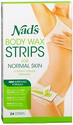 Nad's Hair Removal Strips 24 Each