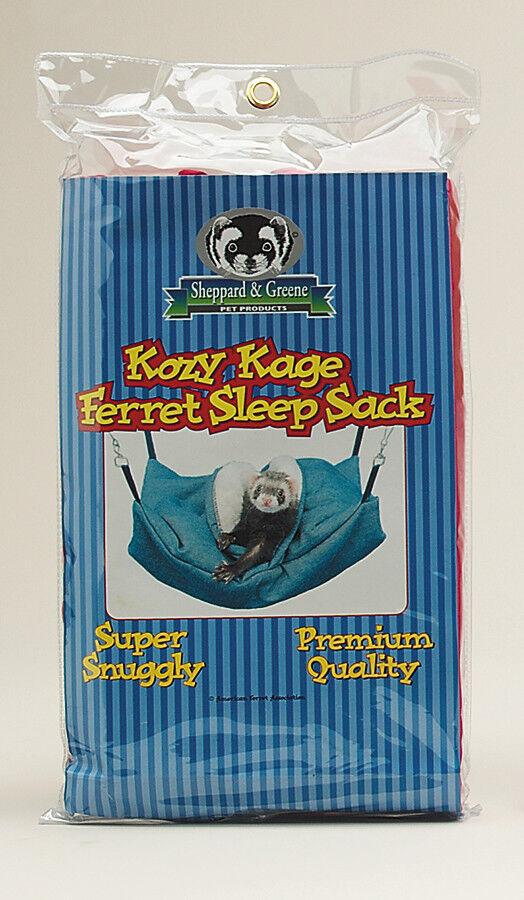 Sheppard /& Greene Ferret Rat Cage Sleeping Bed Hammock Sleep Sack