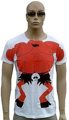 Rare Bravado Offcial SOUTH PARK Headless Satan Devil Body UK Comic ViP T-Shirt S (South Park Satan)