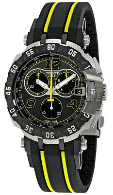 Tissot T-Race Moto GP Limited Edition 2016 Chronograph Black Dial Men's Watch