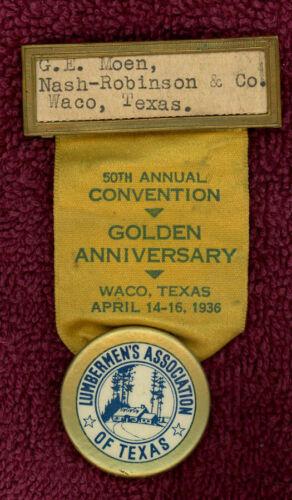 VTG 1936 50th ANNUAL CONVENTION LUMBERMEN