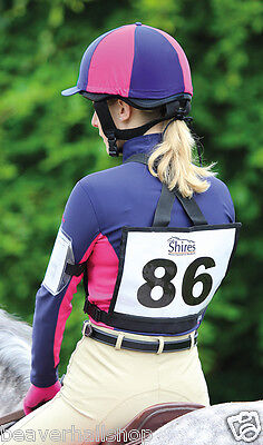 Number Bib Competition Event Cross Country XC BE Holder Shires Equestrian (8081)