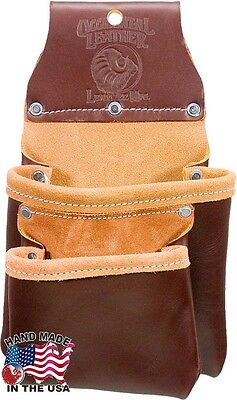 Occidental Leather 6104 Leather Compact Utility Bag with Two Large Pockets