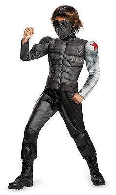 The Winter Soldier Captain America Boys Costume Movie Theme Party - Winter Themen Kostüm Party