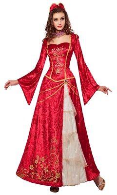 Prinzessin Claire Renaissance Kostüm NEU - Damen Karneval Fasching Verkleidung - Renaissance Prinzessin Kostüm