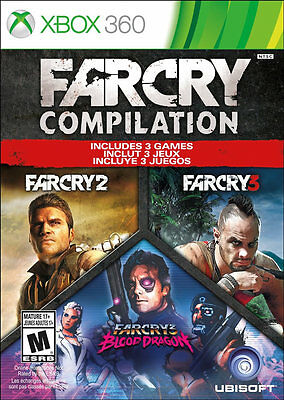 Far Cry Compilation Xbox 360 New Xbox 360  Xbox 360