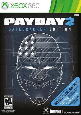 Payday 2  Safecracker Xbox 360 New Xbox 360  Xbox 360