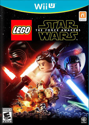 LEGO Star Wars: The Force Awakens Wii-U New Nintendo Wii U, Wii U