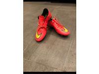 Nike football boots size UK 6