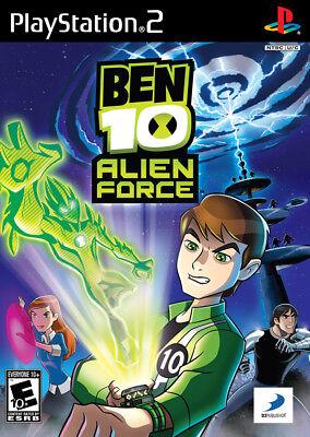 Ben 10: Alien Force Ps2 Playstation 2