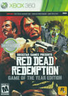 Microsoft Xbox 360 Red Dead Redemption Video Games 2011