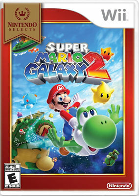 Super Mario Galaxy 2 (select) Wii Nintendo Wii, Nintendo Wii