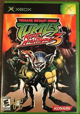 Konami Teenage Mutant Ninja Turtles 3: Mutant Nightmare X...