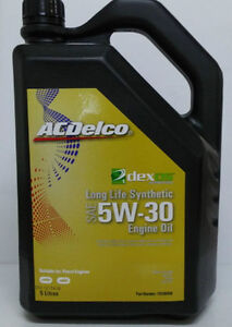 genuine holden acdelco dexos 1 5w30 synthetic oil 5lt. Black Bedroom Furniture Sets. Home Design Ideas