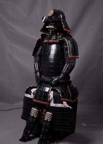 Wearable Japanese Samurai Armor Yoroi Life-Size Handmade Iron Antique Replica