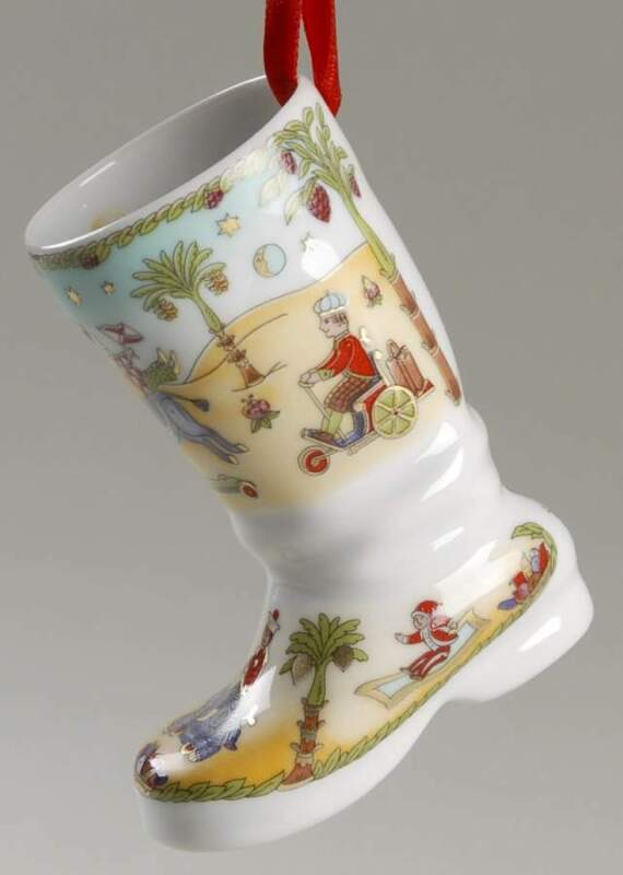 Replacements Hutschenreuther Ornaments Traveling China Christmas Boot 4387354