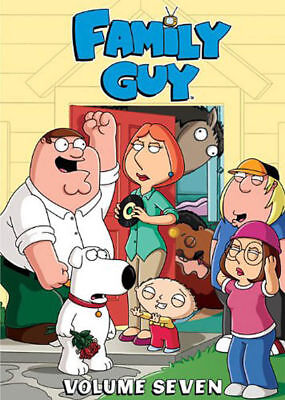 Family Guy  Vol  7  Dvd  3 Disc Set  Brand New   Sealed  Fast Ship  Hmv 88