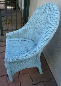 Antique / Vintage Wicker Child's Chair