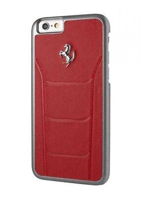 Ferrari 488 Red Leather iphone 7/8 Plus Case