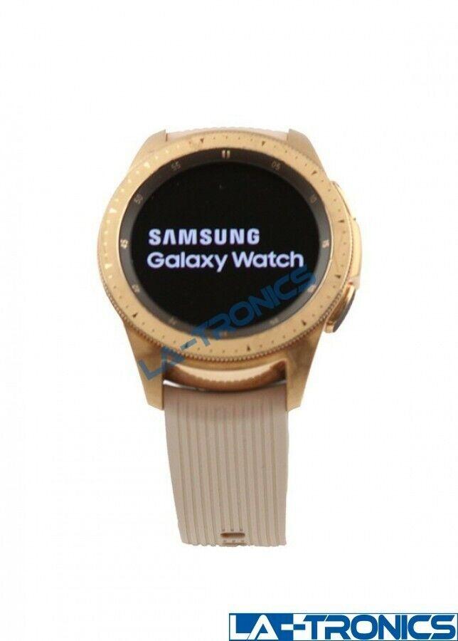 Samsung Galaxy SM-R810 Bluetooth WiFi GPS Smart Watch 42mm