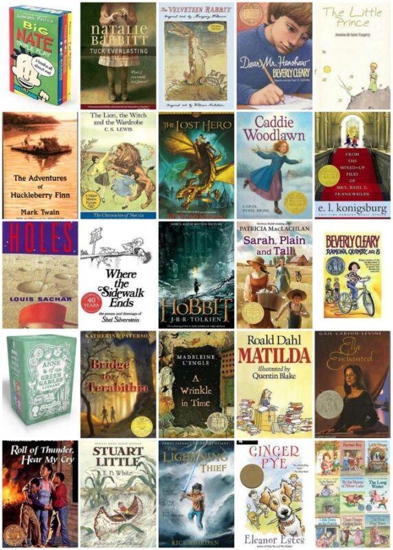 Top 50 Children's Chapter Books | eBay