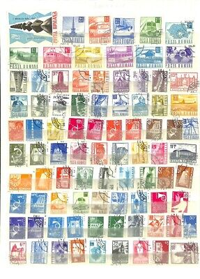 [OP7834] Worldwide lot of stamps on 12 pages