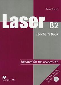 Laser B2 (2nd edition): Teacher's Book + Test 2 Audio-CDs von Brandt, Peter