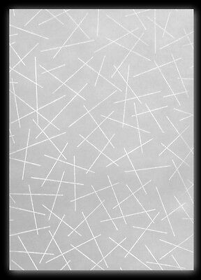 100 Blatt DIN A5 Transparentpapier Zanders Spectral Montmartre, Linienmuster