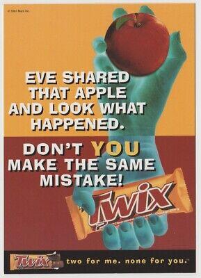 1997 Tower Records Go Card Rack Postcard