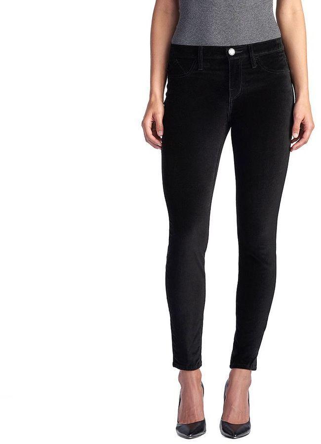 womens rock republic kashmiere black velvet leggings size 14 m new w tags
