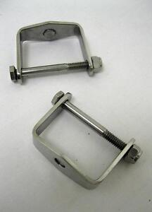 Universal Stainless Steel Spring Clamps For 2
