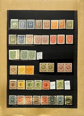 [OP7724] Worldwide lot of stamps on 12 pages