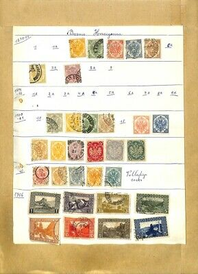 [OP7977] Europe lot of stamps on 12 pages