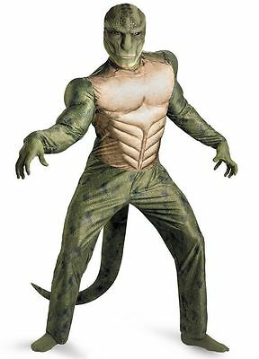The Amazing Spider-Man Lizard Classic Adult Muscle Costume New 42-46 - - Lizard Man Costume