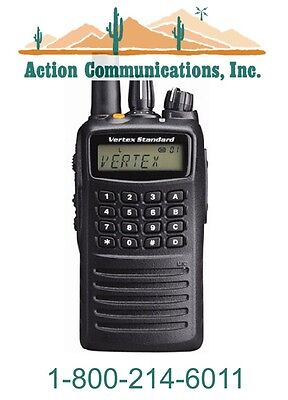 New Vertex Standard Vx 459  Uhf 450 512 Mhz  5 Watt  512 Channel Two Way Radio