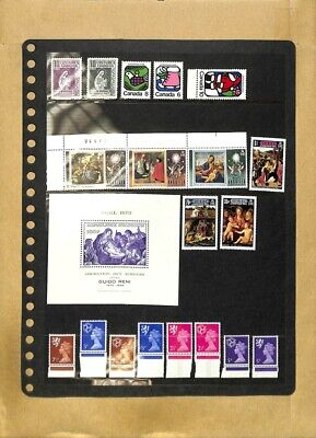[OP7781] Worldwide lot of stamps on 12 pages