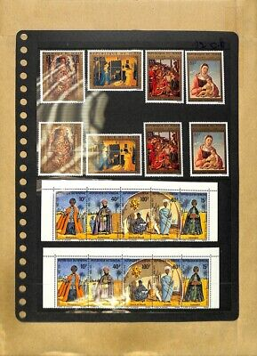 [OP7780] Worldwide lot of stamps on 12 pages