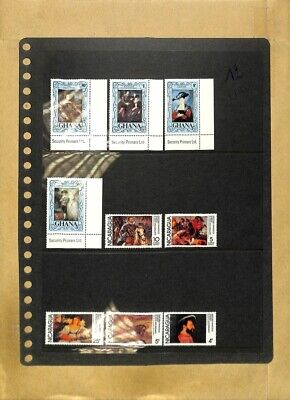 [OP8026] Worldwide lot of stamps on 12 pages