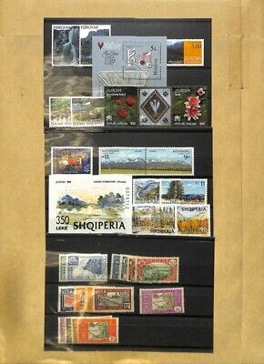 [OP7614] Worldwide lot of stamps on 12 pages