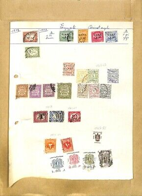 [OP7912] Worldwide lot of stamps on 12 pages