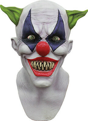 Halloween CREEPY GIGGLES CLOWN Adult Latex Deluxe Mask Ghoulish Productions](Giggles Adult)
