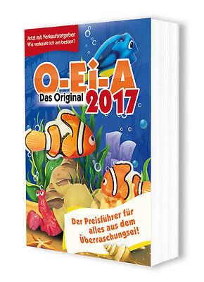 O-Ei-A 2017 - DER Preisführer für den Ü-Ei-Sammler - PORTOFREI!