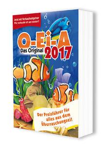 Der brandneue Ü-Ei-Katalog O-Ei-A 2017 - PORTOFREI innerhalb D! 1632 Seiten!!